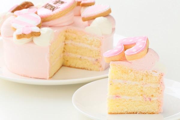 アイシングクッキー乗せ プリンセスケーキ 5号 15cmの画像7枚目