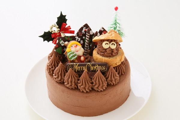 クリスマスケーキ2017 クリスマスガナッシュ 5号 15cmの画像1枚目