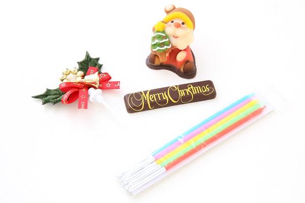 クリスマスケーキ2017 クリスマスガナッシュ 5号 15cmの画像6枚目
