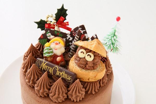 クリスマスケーキ2017 クリスマスガナッシュ 5号 15cmの画像7枚目