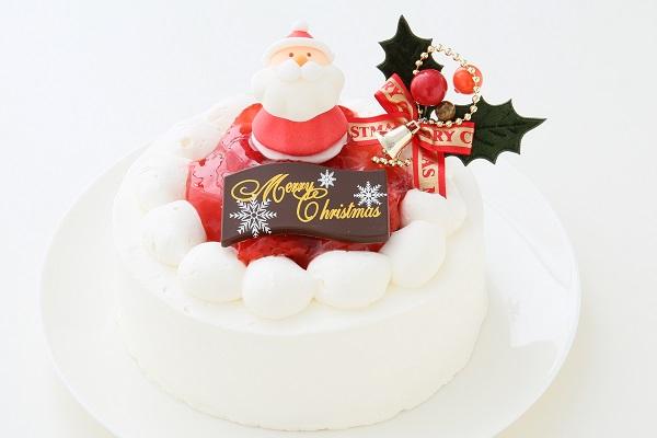クリスマスケーキ2017 苺デコレーションケーキ 5号 15cmの画像1枚目