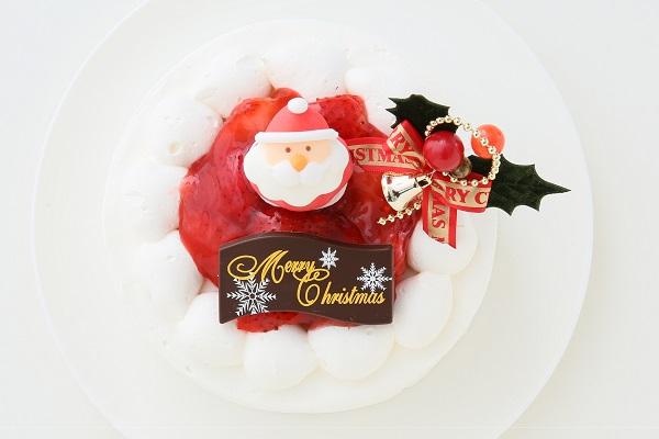 クリスマスケーキ2017 苺デコレーションケーキ 5号 15cmの画像2枚目