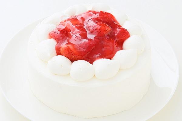 クリスマスケーキ2017 苺デコレーションケーキ 5号 15cmの画像3枚目