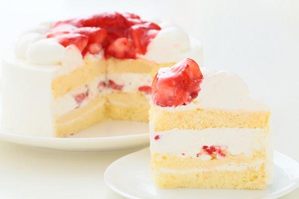クリスマスケーキ2017 苺デコレーションケーキ 5号 15cmの画像7枚目