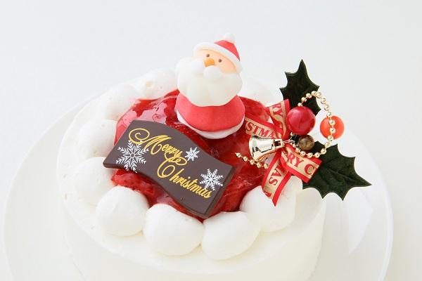 クリスマスケーキ2017 苺デコレーションケーキ 5号 15cmの画像9枚目