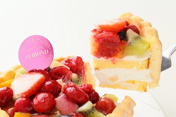 六本木アマンド 贅沢フルーツのシャルロットケーキ 5号 15cmの画像3枚目