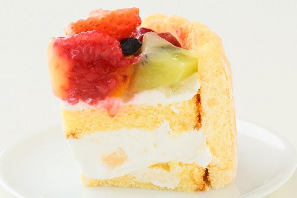 六本木アマンド 贅沢フルーツのシャルロットケーキ 5号 15cmの画像4枚目