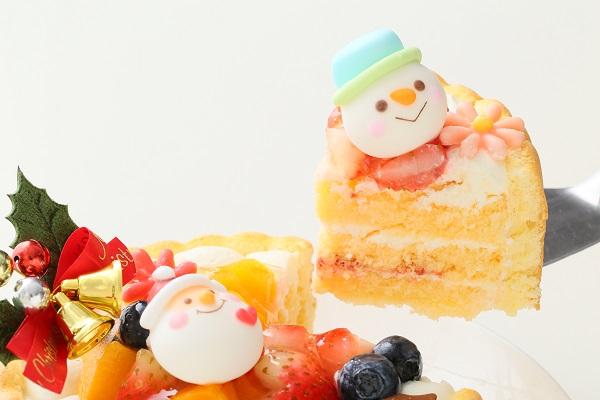 クリスマスケーキ2017 Xmasファーストバースデーケーキ 4号 12cmの画像5枚目