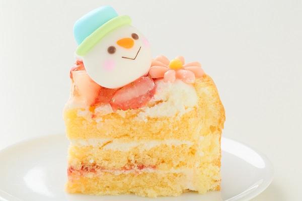 クリスマスケーキ2017 Xmasファーストバースデーケーキ 4号 12cmの画像6枚目