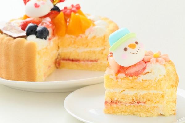 クリスマスケーキ2017 Xmasファーストバースデーケーキ 4号 12cmの画像8枚目