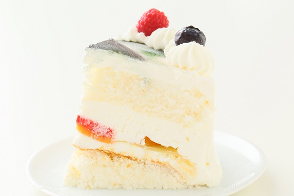 卵・乳製品・小麦粉除去可能 写真ケーキ 生 5号 15cmの画像4枚目