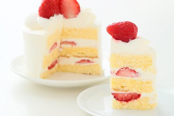 ひなまつりのイチゴ生デコレーションケーキ 5号 15cmの画像5枚目