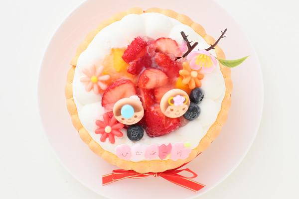 乳幼児向け(初節句にも)ヨーグルトケーキ 4号 12cm ひなまつり限定の画像2枚目