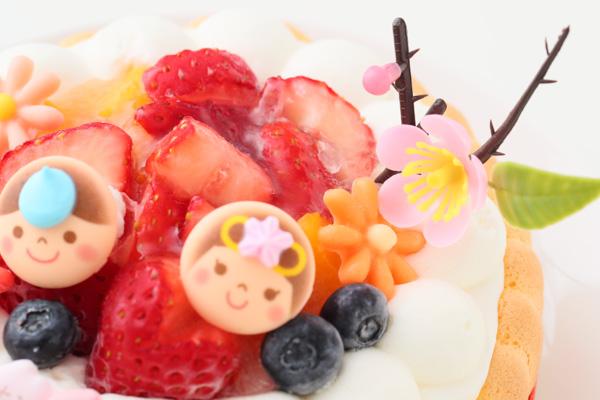 乳幼児向け(初節句にも)ヨーグルトケーキ 4号 12cm ひなまつり限定の画像8枚目