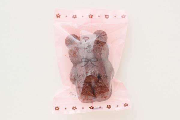 バレンタイン 赤いギフトボックス こぐまちゃん(チョコ・プレーン)5個入りの画像3枚目