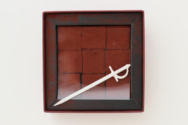 バレンタイン 生チョコレート 尾山台の石畳の画像2枚目