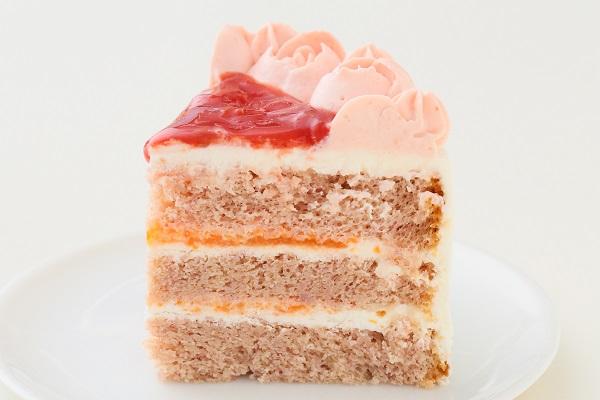 お野菜畑のお雛様ケーキ(ヨーグルトクリーム) 4号 12cmの画像4枚目