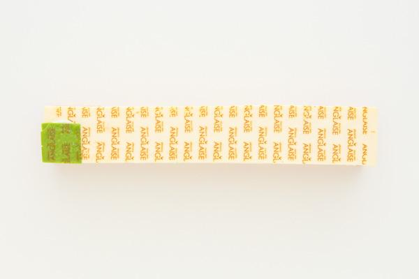 ホワイトデー 木苺ジュレとレアチーズのスクエアケーキ 長さ21cmの画像4枚目