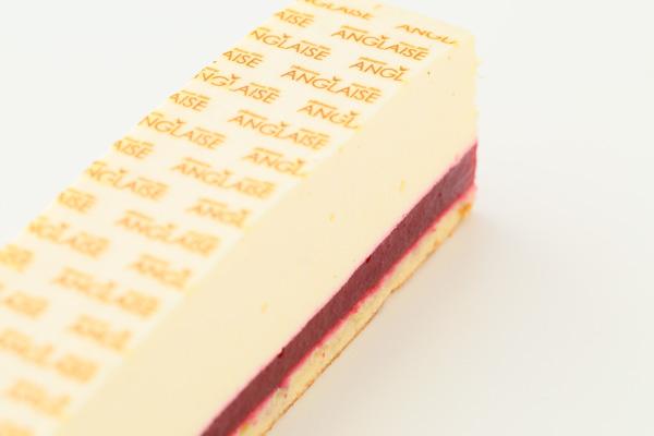 ホワイトデー 木苺ジュレとレアチーズのスクエアケーキ 長さ21cmの画像6枚目