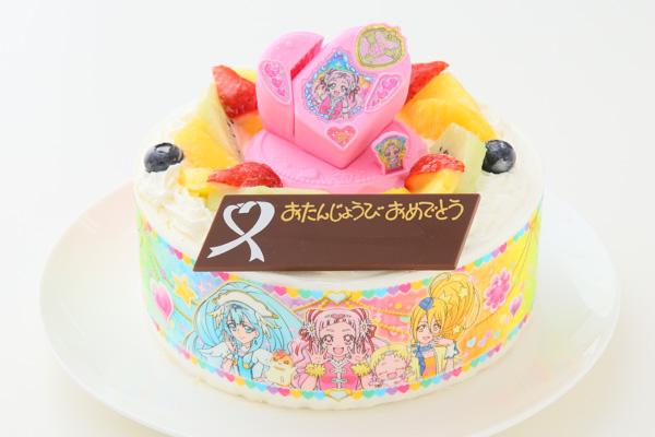 cake.JPサイトのキャラクターケーキ HUGっと!プリキュア