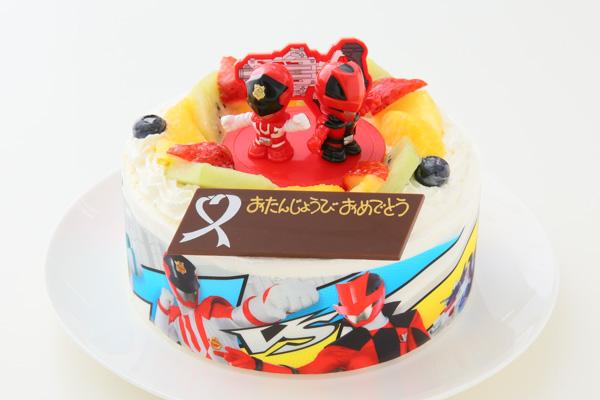 cake.JPサイトのキャラクターケーキ 怪盗戦隊ルパンレンジャーVS警察戦隊パトレンジャー