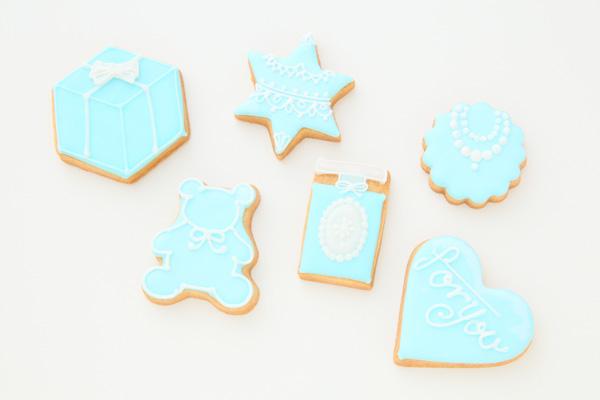 ホワイトデーアイシングックッキーセット 6枚入りの画像1枚目