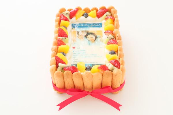 インスタグラム風フレームの写真ケーキ 23cm×15cm×6cmの画像2枚目