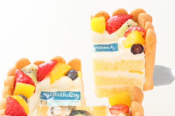 インスタグラム風フレームの写真ケーキ 23cm×15cm×6cmの画像3枚目