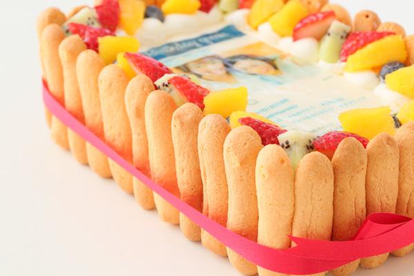 インスタグラム風フレームの写真ケーキ 23cm×15cm×6cmの画像8枚目