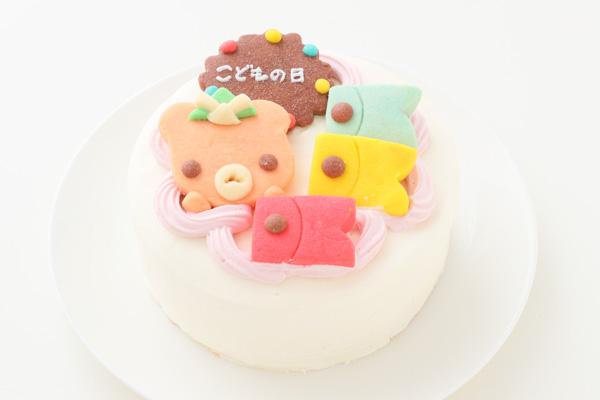 国産小麦粉と安心材料★こどもの日★クッキーデコレーション 5号 15cmの画像1枚目