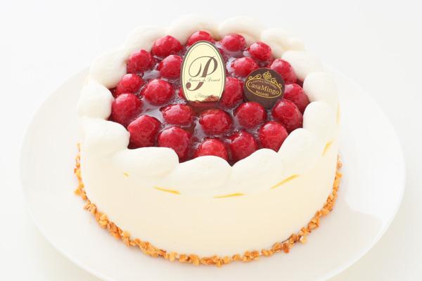 こどもの日 最高級洋菓子 シュス木苺レアチーズケーキ15cm 記念日プレートセット の画像3枚目