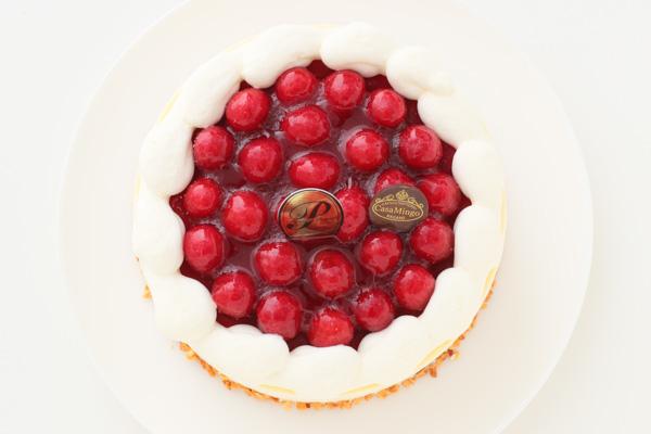 こどもの日 最高級洋菓子 シュス木苺レアチーズケーキ15cm 記念日プレートセット の画像4枚目