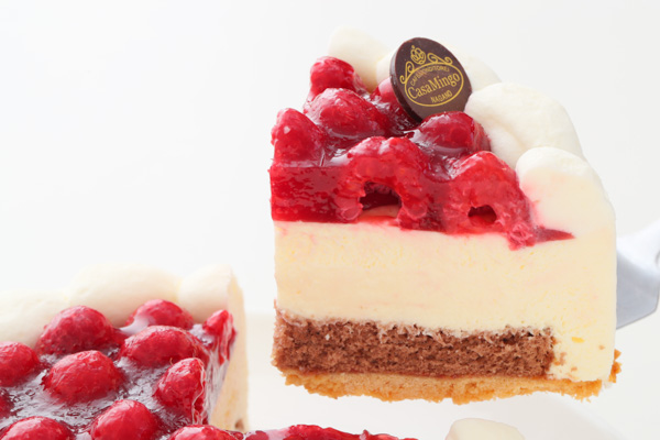 こどもの日 最高級洋菓子 シュス木苺レアチーズケーキ15cm 記念日プレートセット の画像5枚目