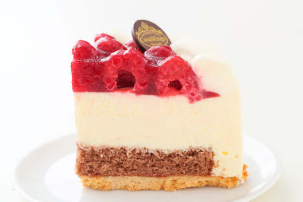 こどもの日 最高級洋菓子 シュス木苺レアチーズケーキ15cm 記念日プレートセット の画像6枚目