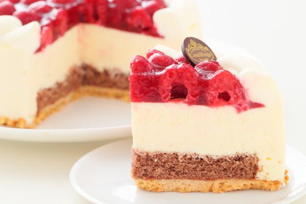 こどもの日 最高級洋菓子 シュス木苺レアチーズケーキ15cm 記念日プレートセット の画像7枚目
