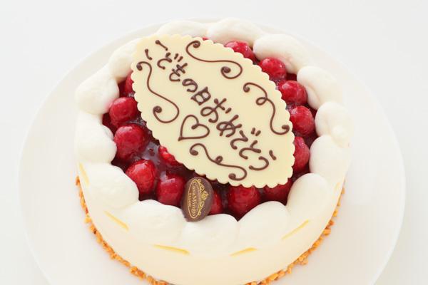 こどもの日 最高級洋菓子 シュス木苺レアチーズケーキ15cm 記念日プレートセット の画像9枚目