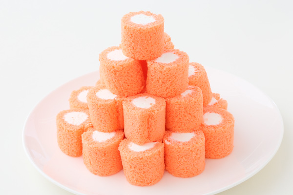 アイシングクッキー付きロールケーキタワー の画像3枚目