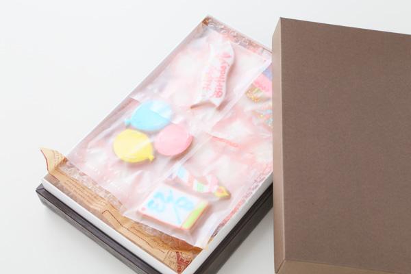 アイシングクッキー付きロールケーキタワー の画像8枚目
