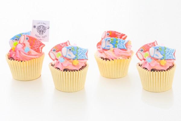 こどもの日カップケーキ 4個入りの画像1枚目