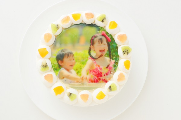 写真ケーキ 丸型 7号 21cm