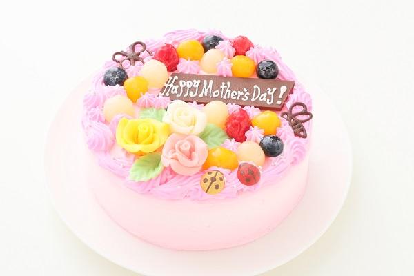 母の日 お花畑のケーキ 5号 15cmの画像1枚目