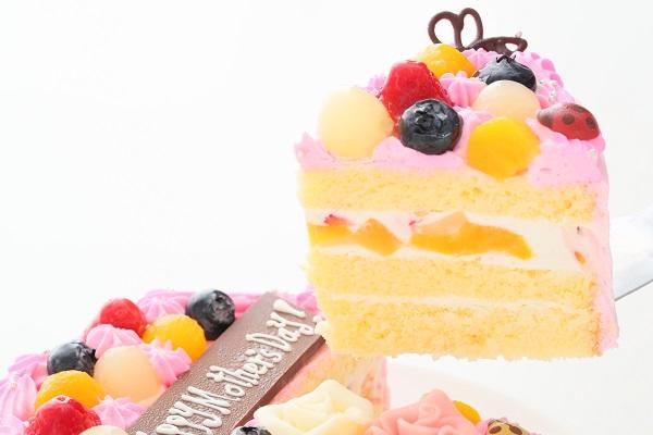 母の日 お花畑のケーキ 5号 15cmの画像3枚目