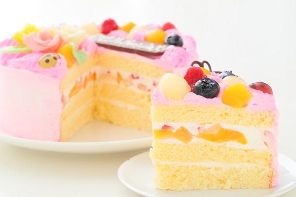 母の日 お花畑のケーキ 5号 15cmの画像5枚目