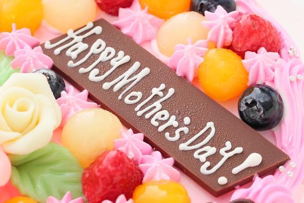 母の日 お花畑のケーキ 5号 15cmの画像6枚目