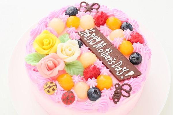 母の日 お花畑のケーキ 5号 15cmの画像8枚目