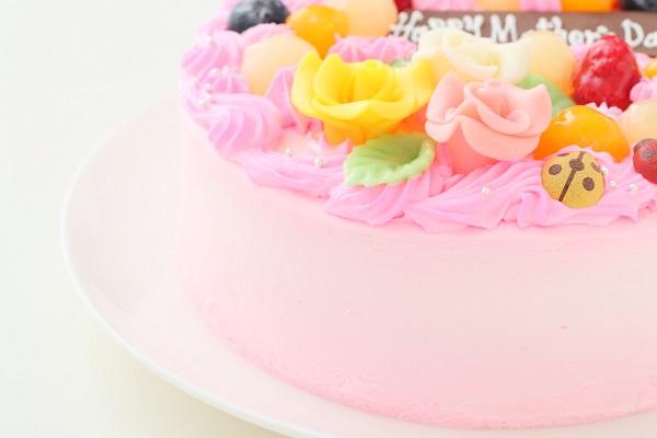 母の日 お花畑のケーキ 5号 15cmの画像9枚目