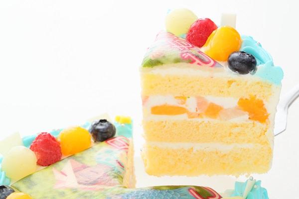 こどもの日 メッセージが入る写真ケーキ 5号 15cmの画像3枚目