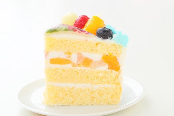 こどもの日 メッセージが入る写真ケーキ 5号 15cmの画像4枚目