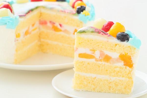 こどもの日 メッセージが入る写真ケーキ 5号 15cmの画像5枚目