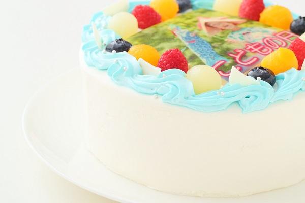 こどもの日 メッセージが入る写真ケーキ 5号 15cmの画像9枚目